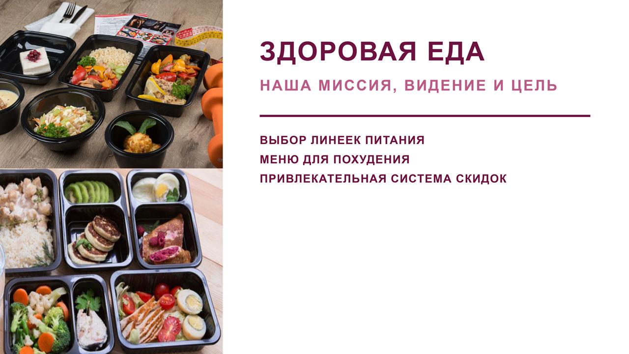 Презентация компании Здоровая еда