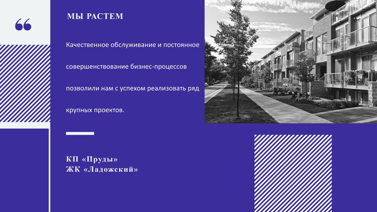 Слайды презентации агентства недвижимости